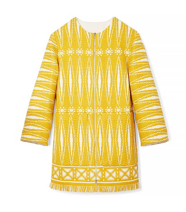 Tory Burch Savora Tweed Coat