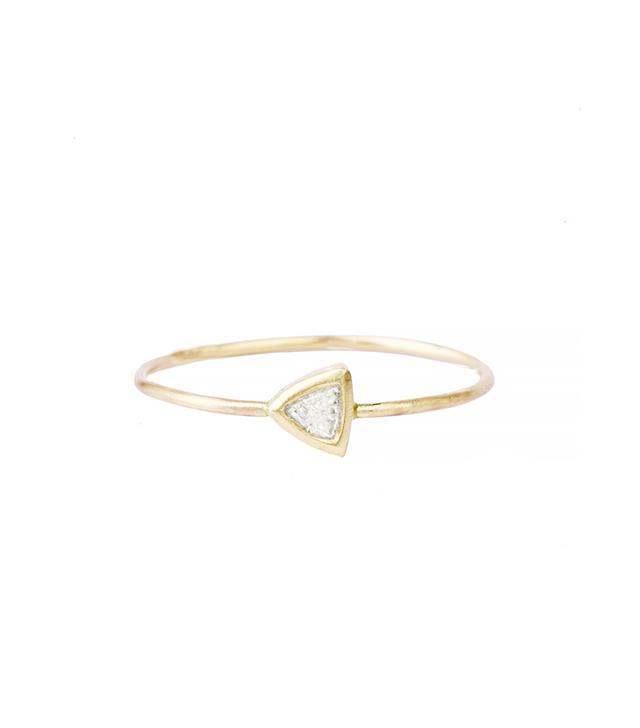 Rosedale Trillion Diamond Ring