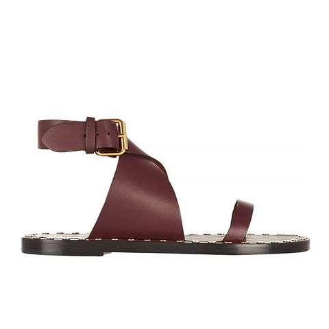 Janis studded leather sandals