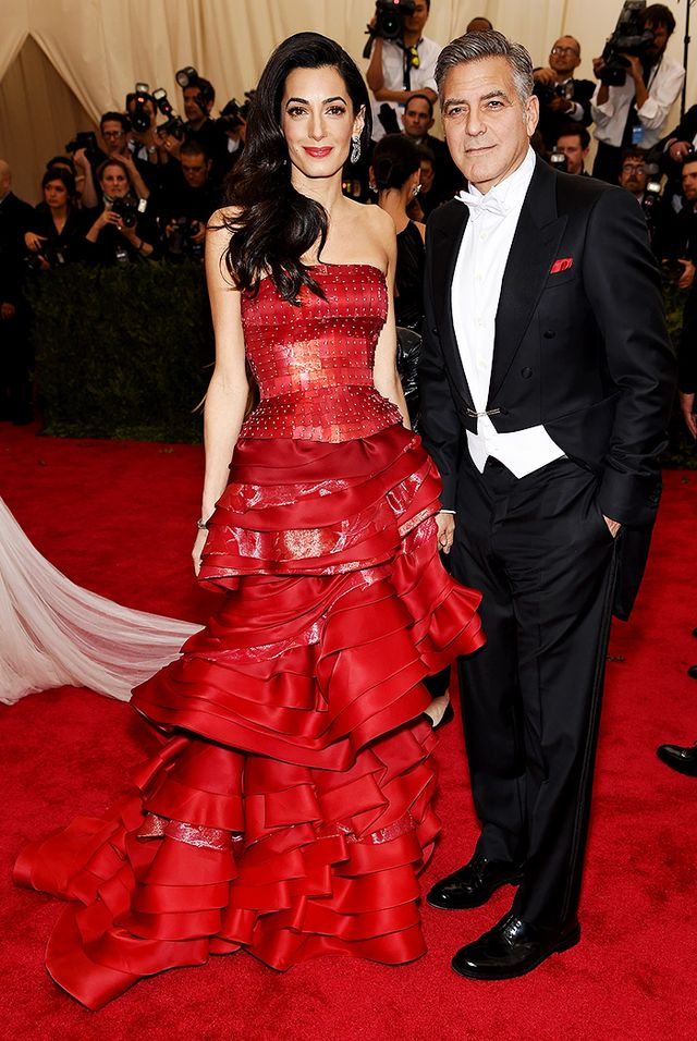 WHO: Amal and George Clooney