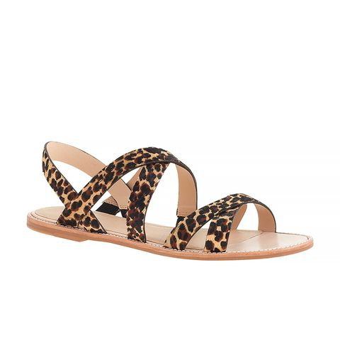 Mackenzie Calf Hair Sandals