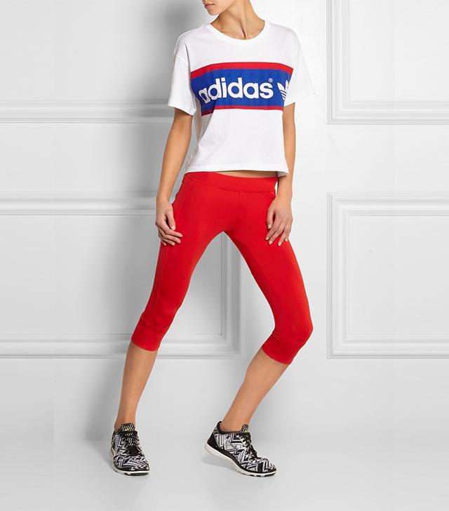 Adidas Originals City London Printed Cotton-Jersey T-Shirt