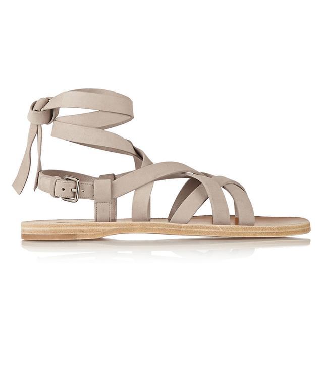 Miu Miu Suede Gladiator Sandals