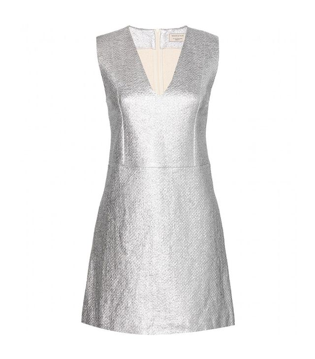 Maison Kitsuné Metallic Dress