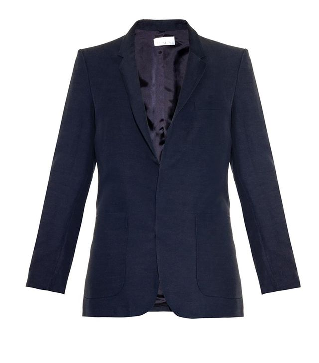 Raey Double-Faceted Textured Blazer