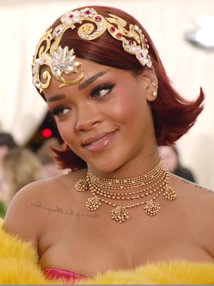 Rihanna's Met Ball Dress Took How Long to Make?!