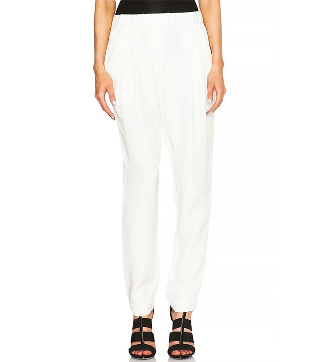 3.1 Phillip Lim Silk Draped Pocket Trousers