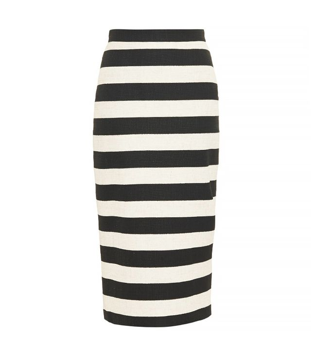 A.L.C. Guy Striped Pencil Skirt