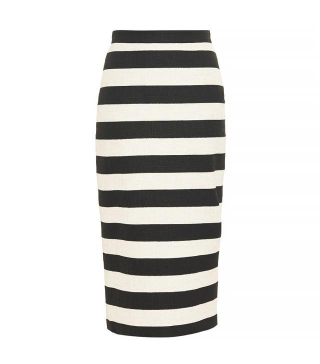 A.L.C. Guy Striped Pencil Skirt