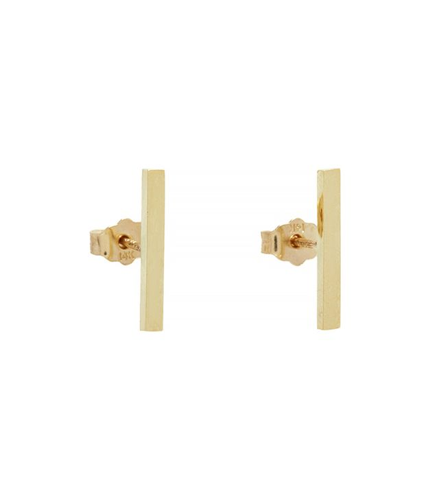 Jennifer Meyer Long Bar Studs