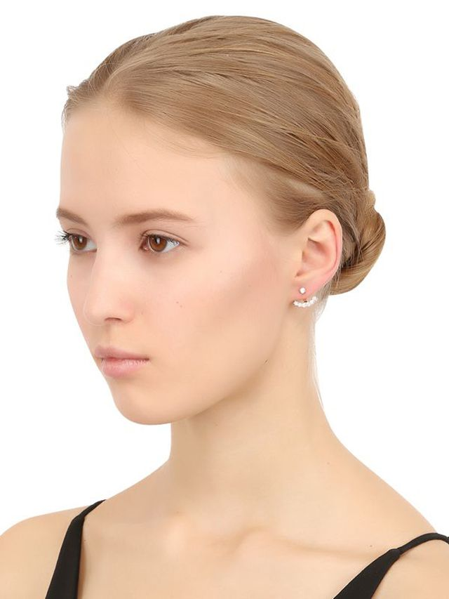 Anita Ko Ear-Jacket Mono Earring