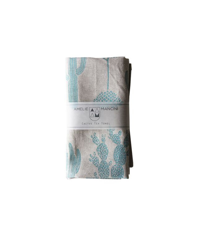 Amelie Mancini Cactus Tea Towel