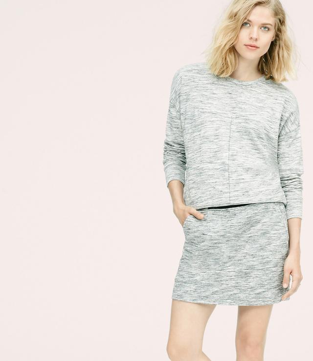 Lou & Grey Spaceslub Mini Skirt