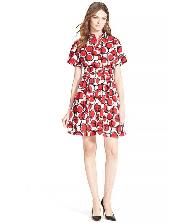 Kate Spade New York Stamped Dots Shirtdress