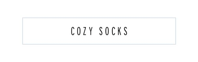 Even if you're not wearing sneakers or boots, we advise bringing along a pair of cosy socks to slip into on the plane. Consider it an essential treat.