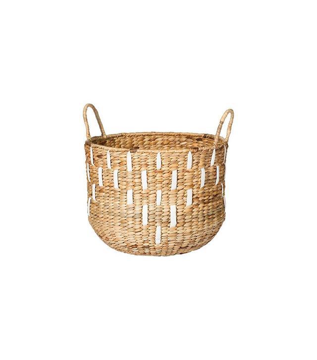 Nate Berkus Water Hyacinth Basket with Handles