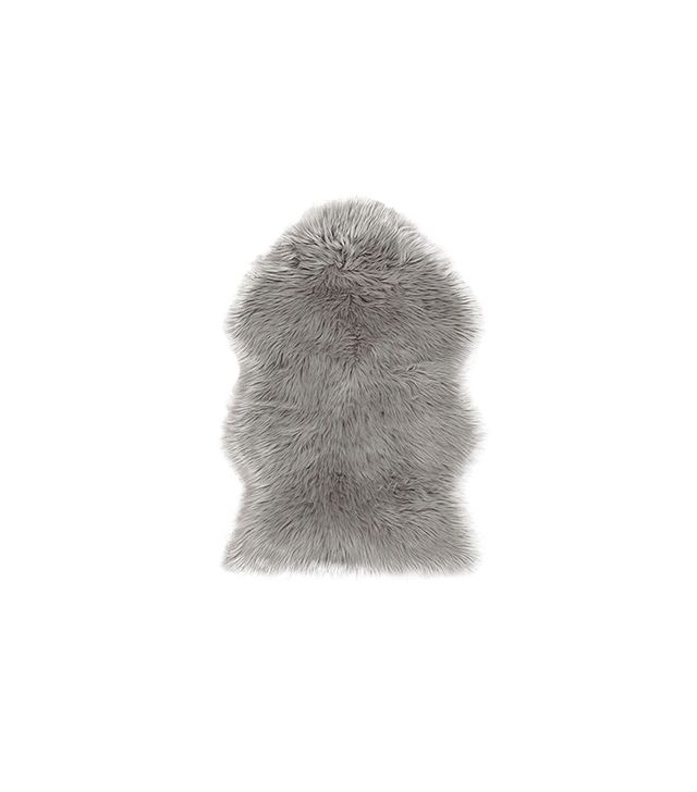 Urban Outfitters Faux Sheepskin Rug