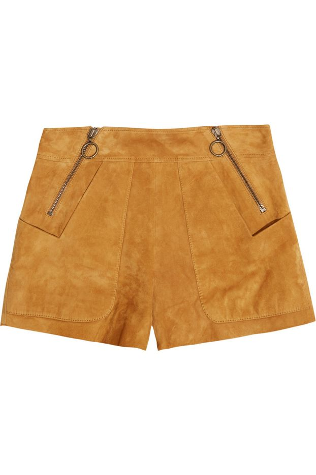 Chloé Suede Shorts