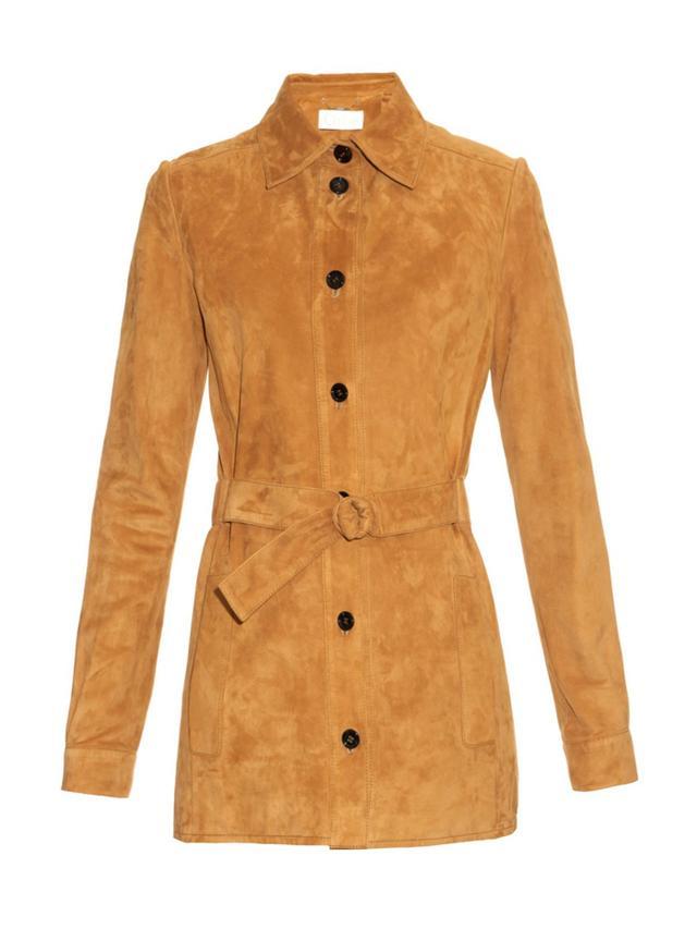 Chloé Belted Suede Jacket