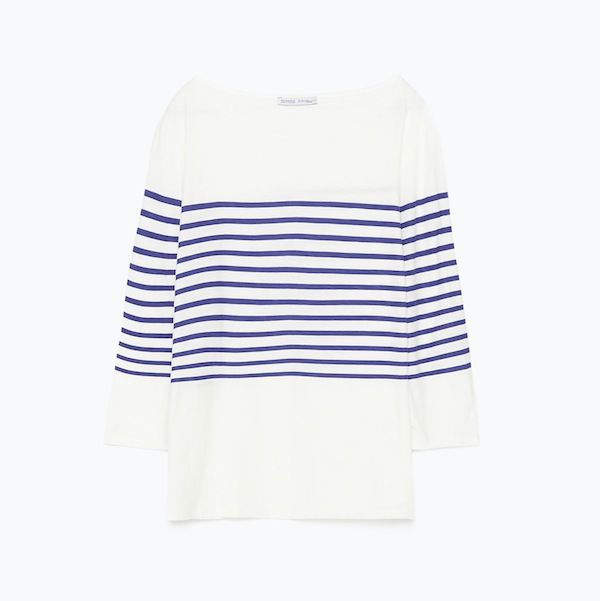 Zara Striped Cotten T-Shirt