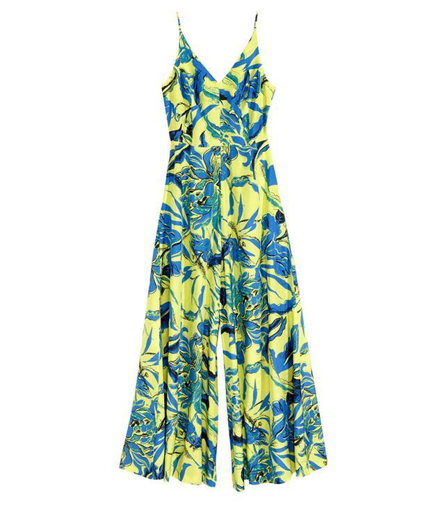 H&M Silk-Blend Jumpsuit