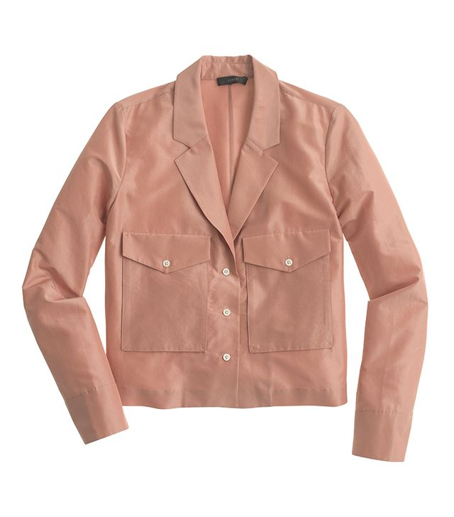 J.Crew Collection Cropped Eisenhower Jacket
