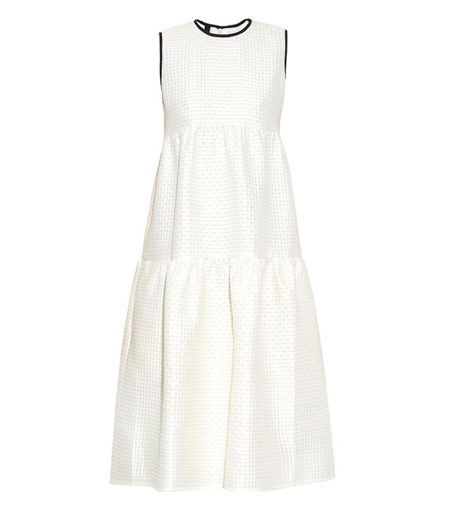 Mother of Pearl Gudwin Dropped-Waist Dress