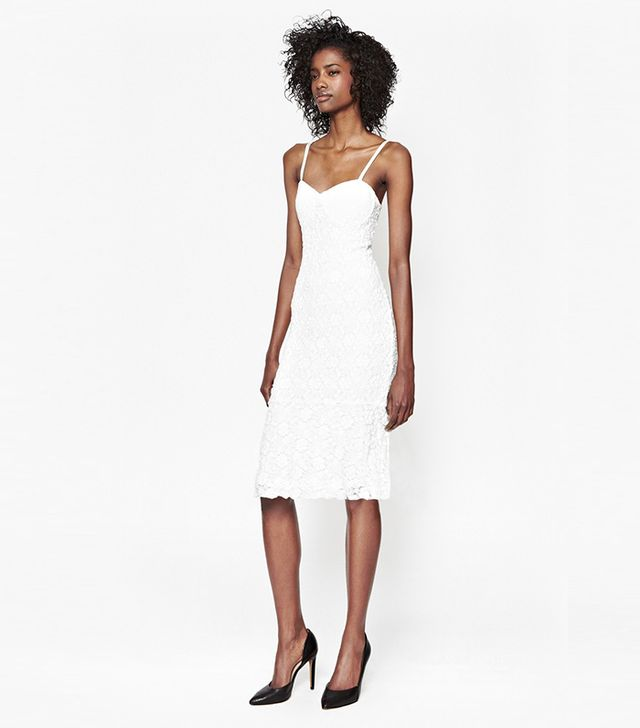 French Connection Havana Lace Strappy Dress