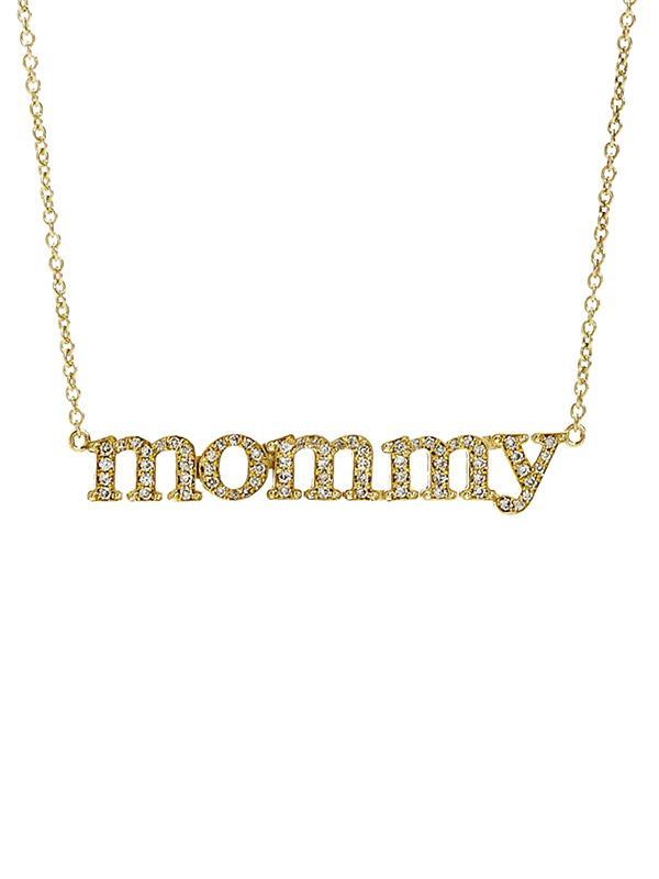 Jennifer Meyer Mummy Pendant Necklace