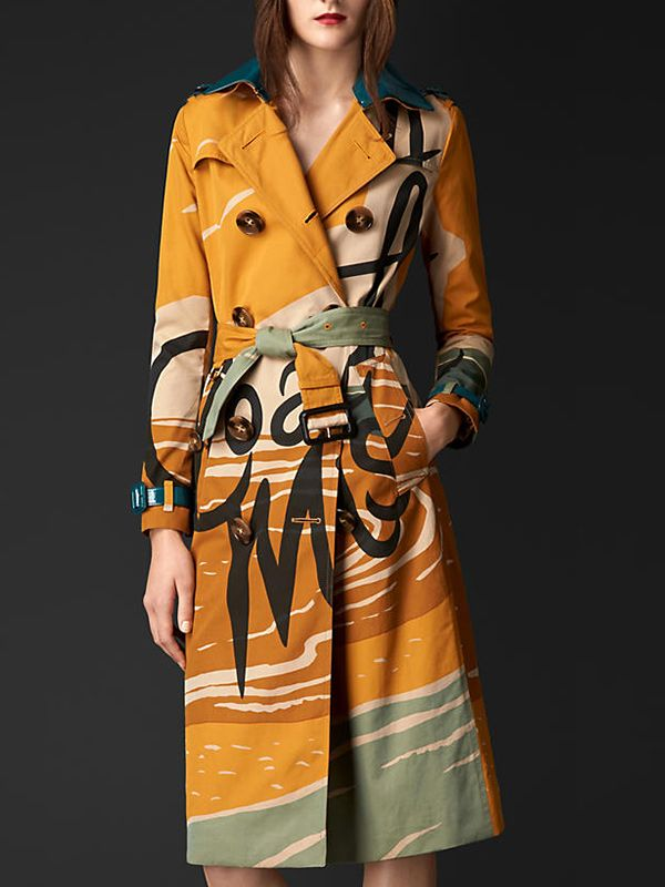 Burberry Book Cover Trench Coat
