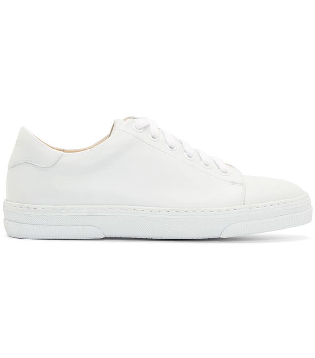 A.P.C. Leather Steffi Sneakers