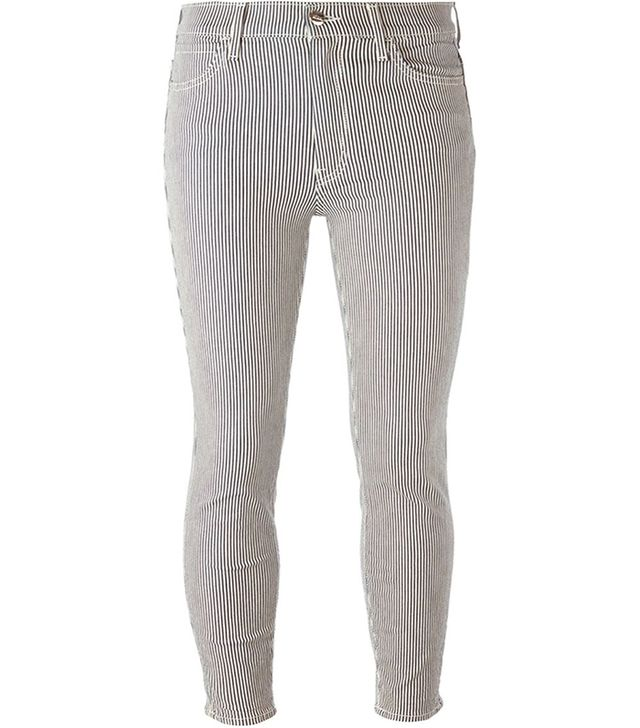 Koral Striped Skinny Jeans