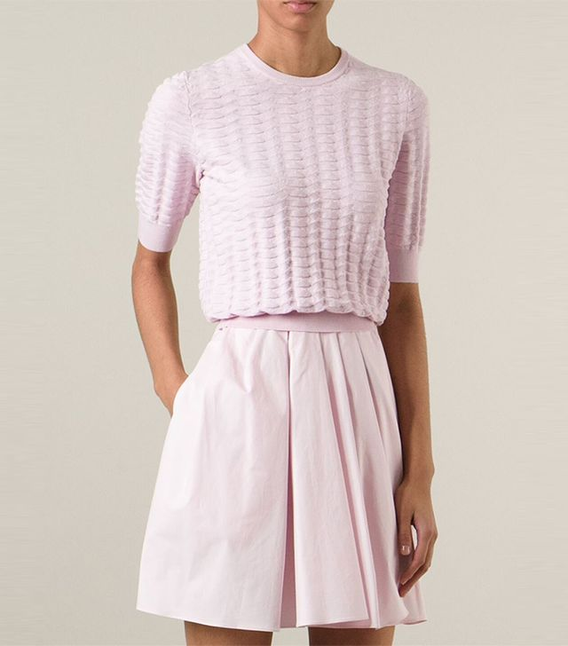 Carven Cropped Sweater