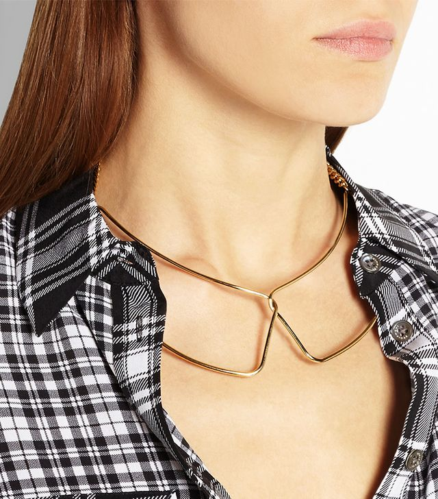 Marc by Marc Jacobs Gold-Tone Collar Necklace