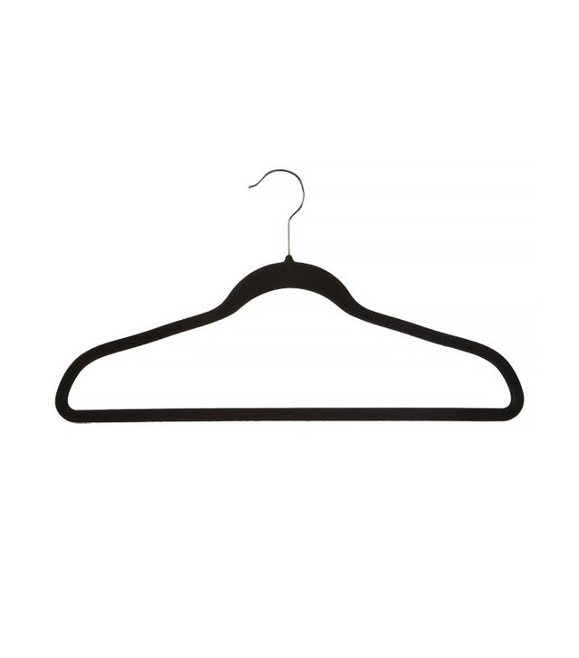 The Container Store Black Huggable Hangers Value Pack