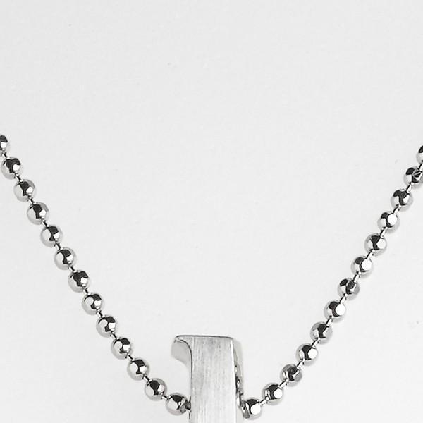 Alex Woo Little Letter Initial Pendant Necklace