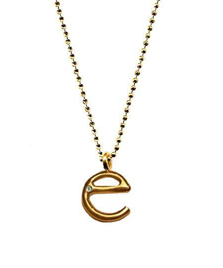 Ariel Gordon Initial Pendant Necklace