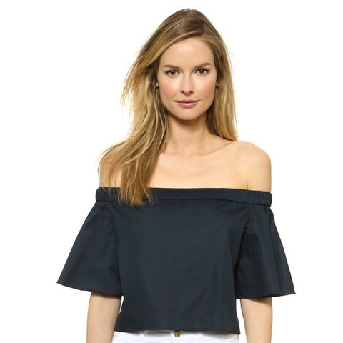 Off Shoulder Short Sleeve Top