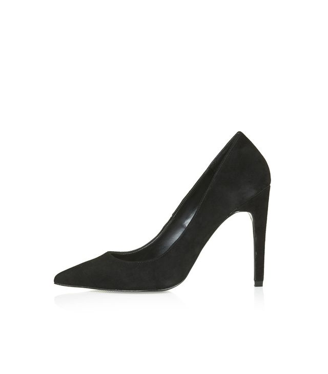 Topshop Gemini Suede Court Shoes