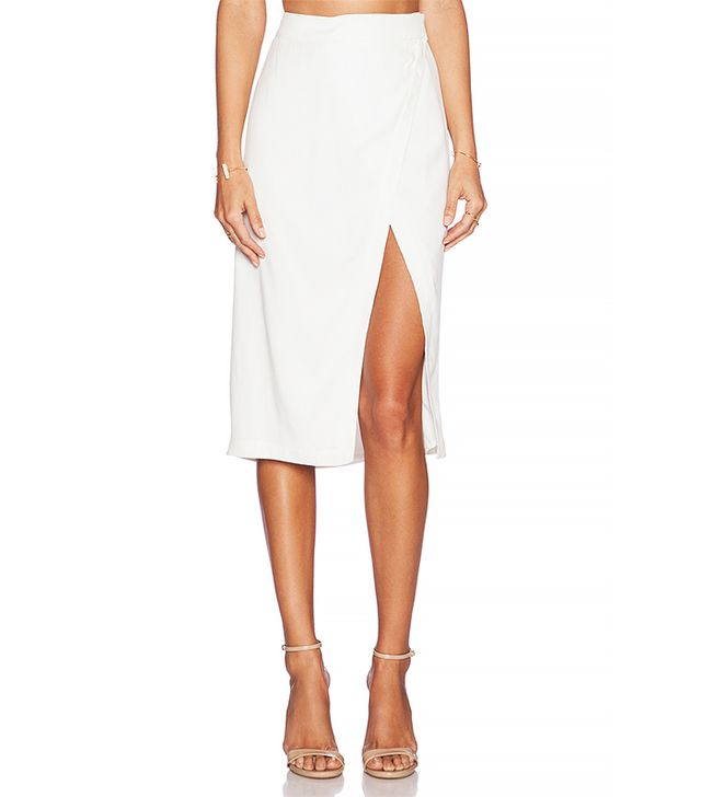 Addison Repetti Wrap Skirt