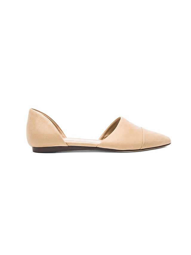 Jenni Kayne D'Orsay Oiled Leather Flats