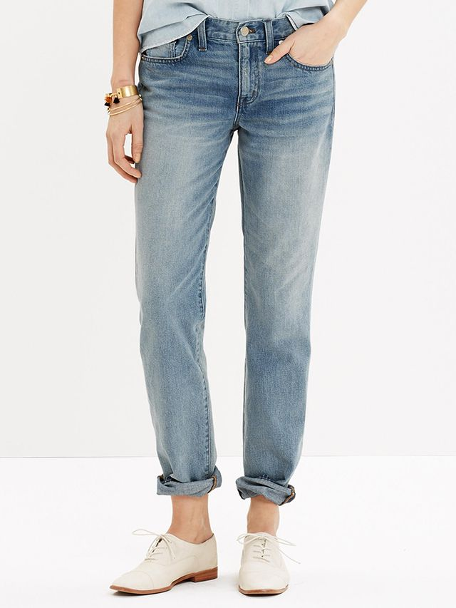 Madewell The Boyfriend Jean in Coltrane Wash