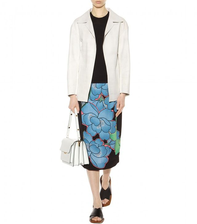 Marni Print Pencil Skirt