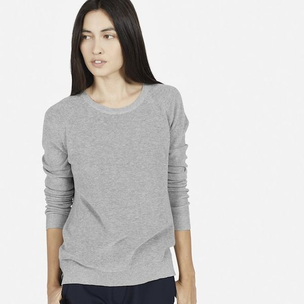 Everlane The Cotton Sweater Crew