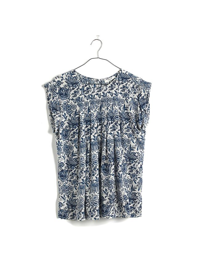 Madewell Silk Garden Top