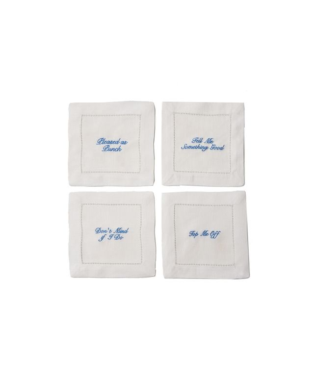 Draper James Southern Sayings Cocktail Napkin Set