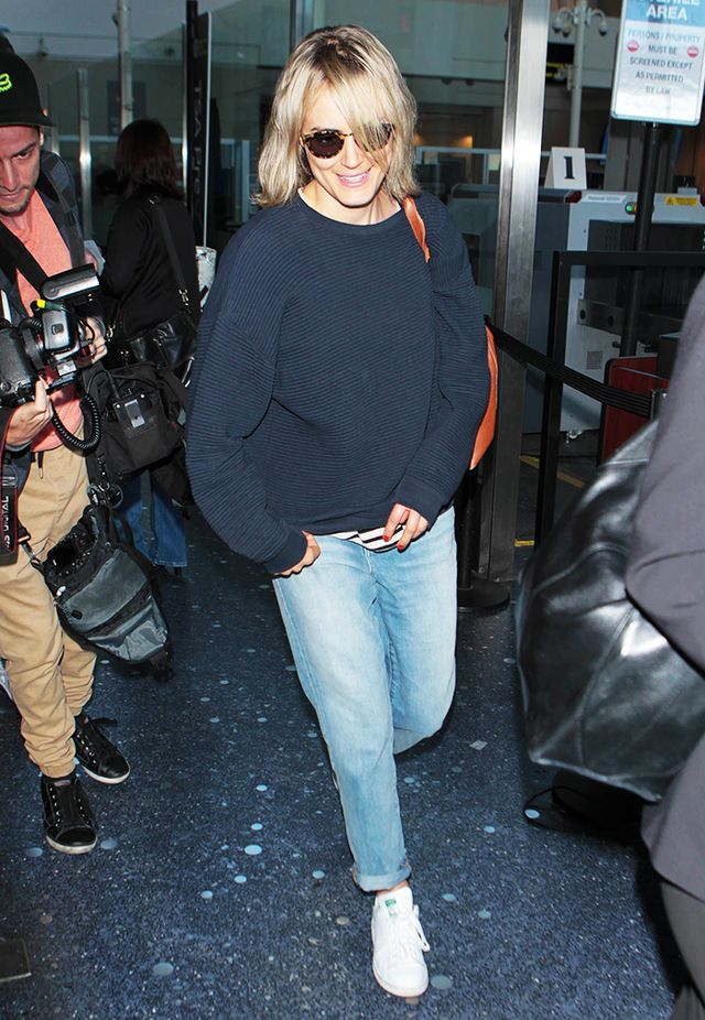 Taylor Schilling's Madewell Picks: The Boyfriend Jeans & Indio Sunglasses