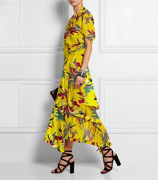 Marni Printed Poplin Twill Dress