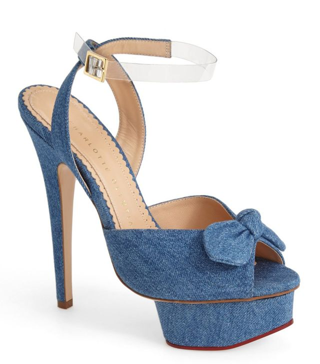 Charlotte Olympia Serena Ankle Strap Sandals