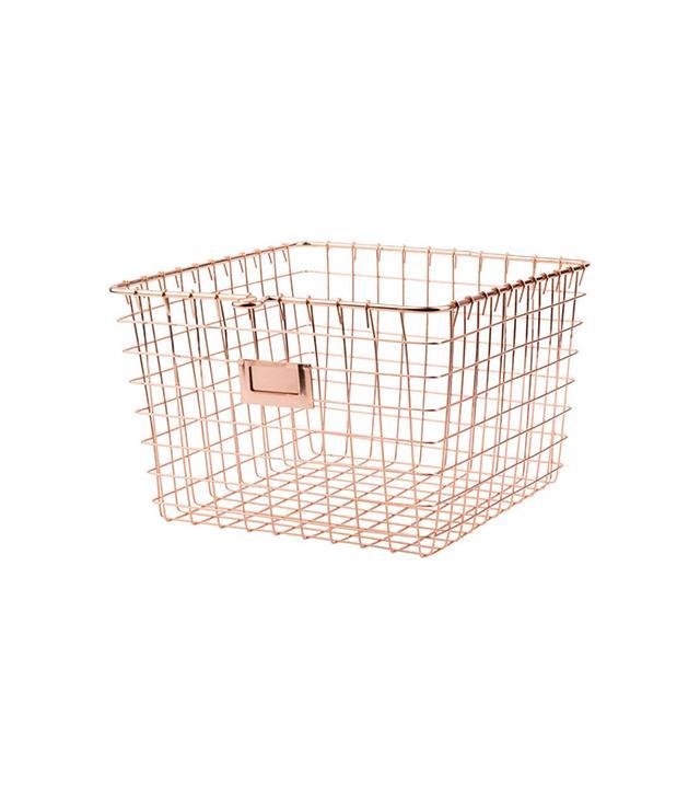 Rejuvenation Copper Wire Gym Basket